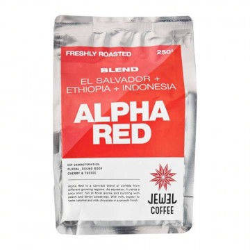 Jewel Alpha Red Coffee Beans - Mixed (250 gm)