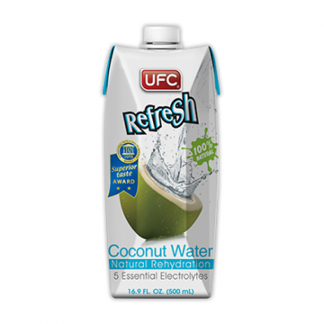 UFC Refresh Coconut Water 100% Natural - 500ml
