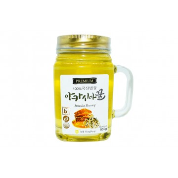 Premium Honey Acacia - South Korea (550 gm)