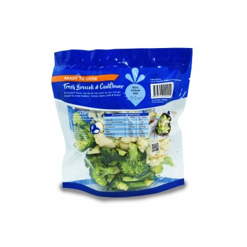 Modern Mum Broccoli & Cauliflower - Cut & Washed (300 gm)
