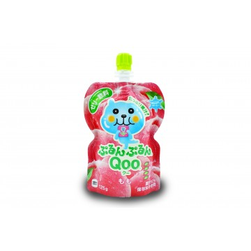 Qoo Peach Juice Jelly - Japan (125 ml)
