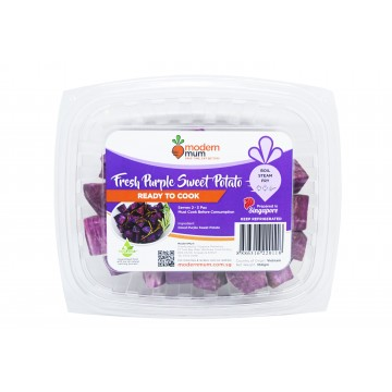 Modern Mum Purple Sweet Potato - Cut & Washed (300 gm)