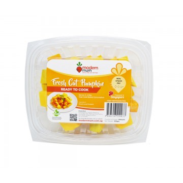 Modern Mum Fresh Pumpkin - Cut & Washed (350 gm)
