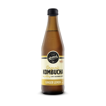 Organic Remedy Kombucha (Ginger Lemon) - Australia (330 ml)