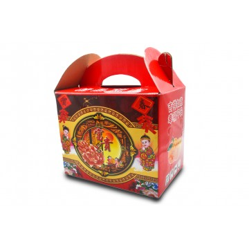 CNY Mandarin Orange Lukan Mini Gift Box - China (18 pcs)