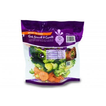 Modern Mum Broccoli & Carrot - Cut & Washed (300 gm)
