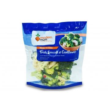 Modern Mum Broccoli & Cauliflower - Cut & Washed (300 gm)