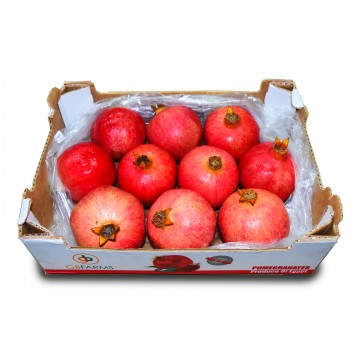 Pomegranate Carton - Peru/India (8 to 14 pcs)
