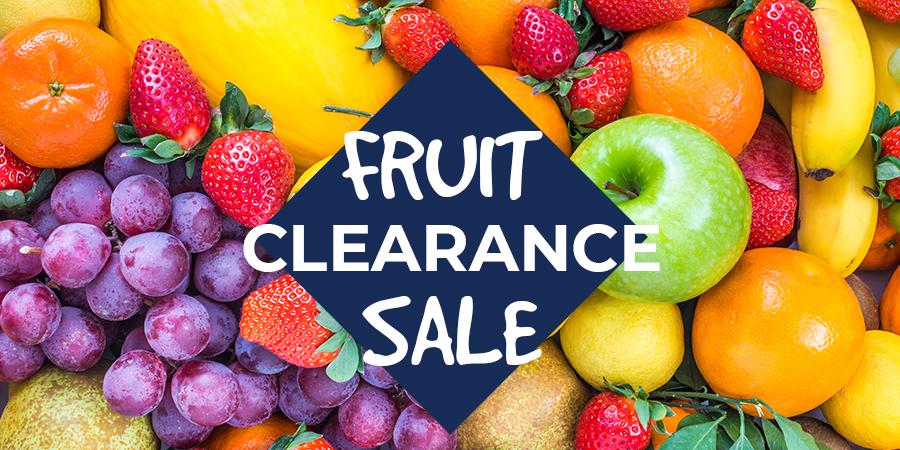 Fruit Clearance Sale