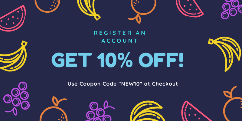 First Order 10% Off Promo